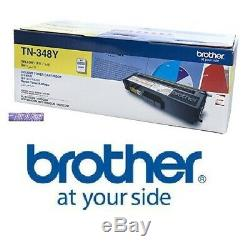 100% Genuine Brother TN348y Yellow Toner 6000pages super high. Not tn340y tn341y