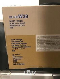 2018 Dual Pack Brother White Ink Cartridge 380ml GC-30 W38 GT-361 GT-381 Genuine