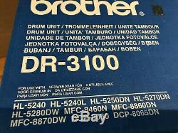 Brand New Genuine Brother Drum Unit And Toner Dr-3100 Tn-3170