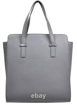 Brook's Brothers Women's Grey One Size Genuine Leather Shoulder Bag 8094-1