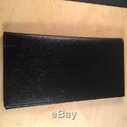 Brooks Brother Check Wallet Genuine Leather