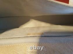 Brooks Brothers Genuine Ostrich leather Clutch/handbag $2500 NWTS