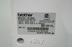 Brother Genuine Computerized Sewing Quilting Machine w Wide Table HC1850