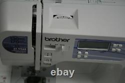 Brother Genuine HC1850 Sewing Quilting Machine w LCD Display 8 Feet White
