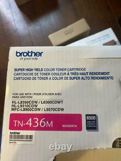 Brother Genuine Super High Yield Toner Cartridge, TN436M, Replacement