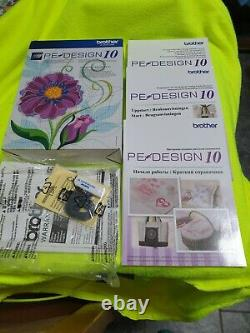 Brother PE10 EMBROIDERY SOFTWARE genuine in box