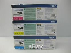 Brother TN-315 Toner Set Genuine New SET OF 3 SHIPS OVERBOXED