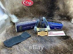 Case Brothers 52131 Canoe Knife With Genuine Stag Handles Mint In Tin 29C