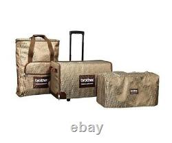 Genuine Brother SASEB Fashion Rolling Luggage & Soft Cover for V-Series Machines