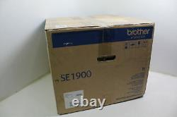 Genuine Brother SE1900 Sewing Embroidery Machine Built In Stitches Computerized