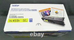 Genuine Brother TN-433Y High Yield Yellow Toner New and Sealed