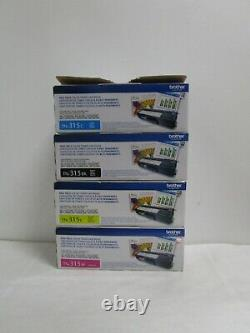Genuine Brother Toner Set Tn-315c, 315m, 315y, 315k New See Photos Free Shipping
