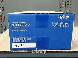 Genuine Sealed OEM Brother TN-880 (TN880) Black Super High-Yield Toner