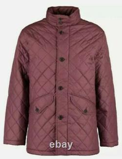 NEW & GENUINE Brooks Brothers Dark Red Quilted Jacket Size M
