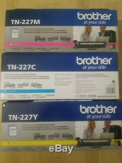 NEW GENUINE Brother TN227C/M/Y High Yield Toner 3PK COLORS FOR MFC-L3710