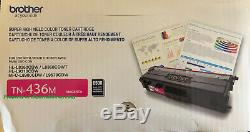 NEW GENUINE Brother TN436M Magenta Toner Cartridge High Yield (Up to 6500 Pages)