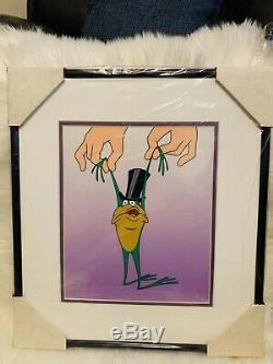 NEW Genuine Authentic Warner Bros. RIBET Hand Painted Rare Animation Cel