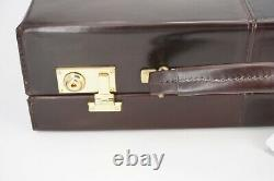 New $4500 Brooks Brothers Horween Genuine Shell Cordovan Briefcase Attache