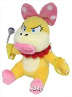 REAL AUTHENTIC Little Buddy 1346 Super Mario Bros Wendy Koopa Plush Doll