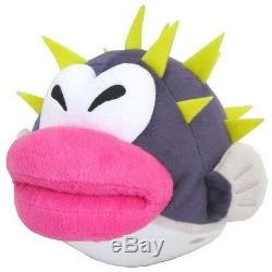 REAL LICENSED Super Mario Bros 7 Porcupuffer Plush Doll Toy 1339 Little Buddy